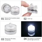Products Wedding New Products Button Battery Powered Mini Submersible LED Lights Led Candle For Wedding Decoration
