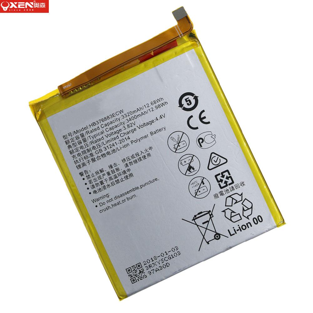 Литиевая аккумуляторная батарея большой емкости HB376883ECW для Huawei P9 plus