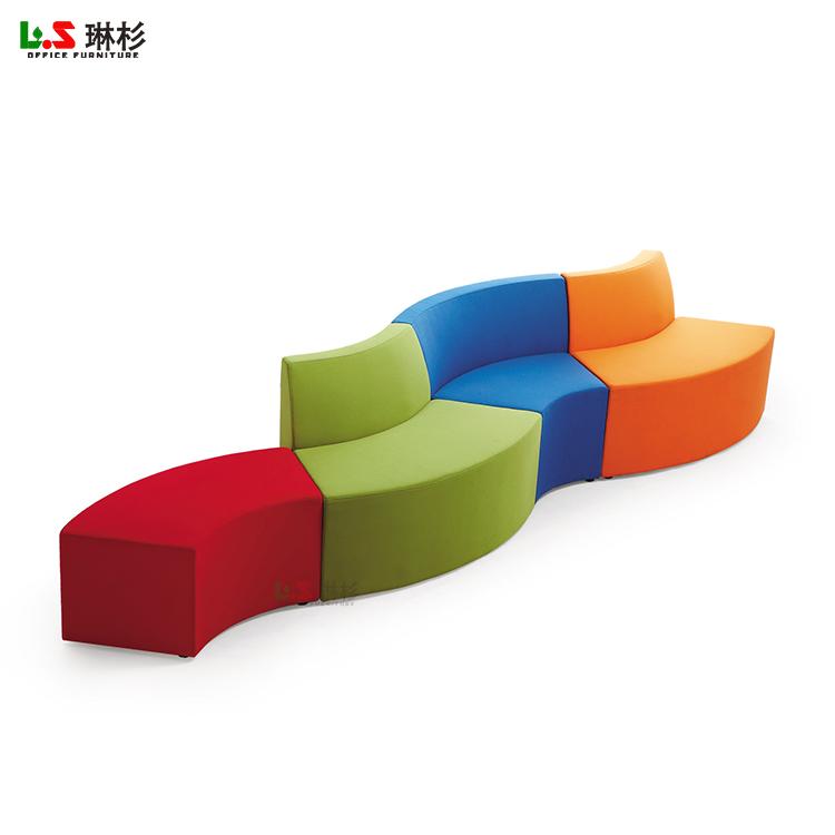 public waiting room furniture modern office reception fabric sofa