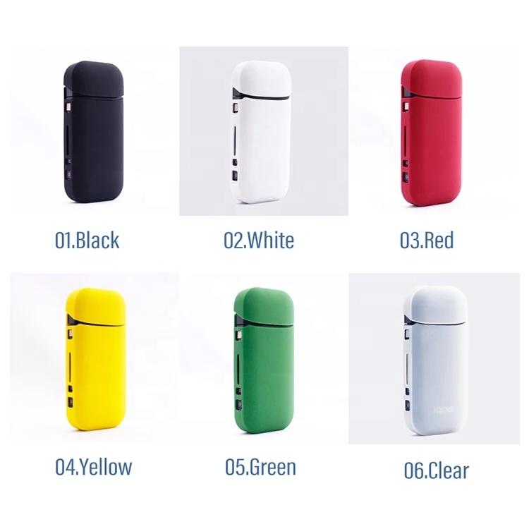 Lovekeke-IS2 новый прозрачный и красочный силиконовый чехол, чехол для защиты от царапин для использования с IQOS 2,4 2,4 plus, в наличии