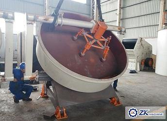 High Quality Clay/Calcium Carbonate Granulator Machine