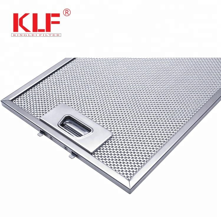 Range hood commercial grease filter