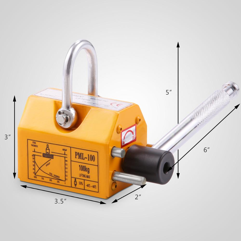 Factory Made High Quality Professional NEW 1000KG Steel Magnetic Lifter Heavy Duty Crane Hoist Lifting Magnet 2200lb Factory Made High Quality Professional NEW 1000KG Steel Magnetic Lifter Heavy Duty Crane Hoist Lifting Magnet 2200lb