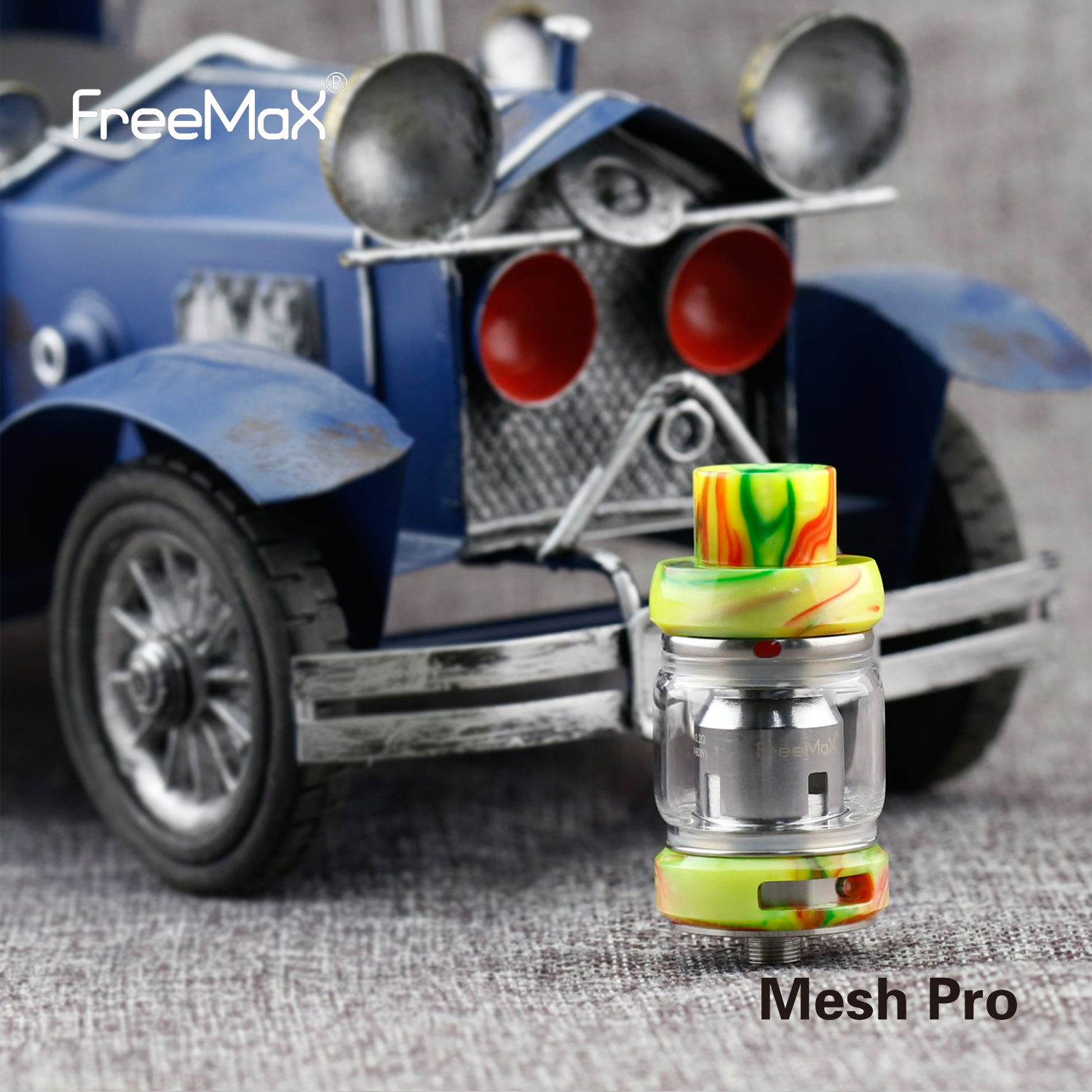 Freemax E cigarette Sub Ohm Tank Mesh Pro With Huge Cloud and Mesh Coil In Stock - MrVaper.net