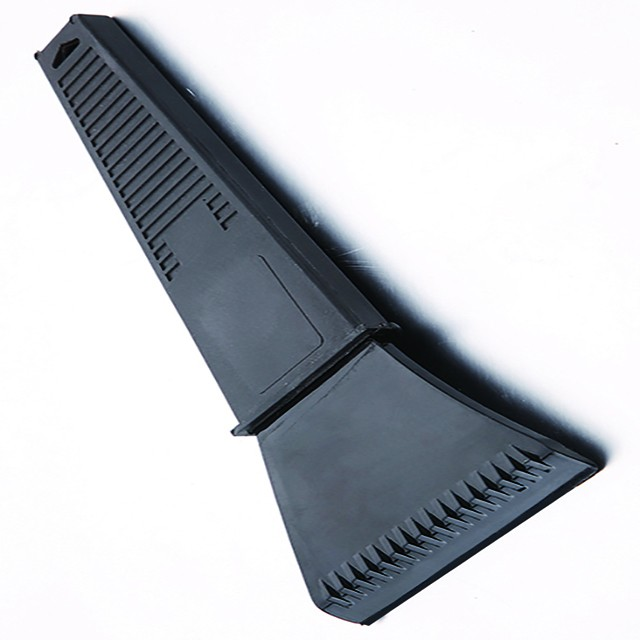 Auto Vehicle window windshield snow clear Squeegee with long handle plastic car ice scraper