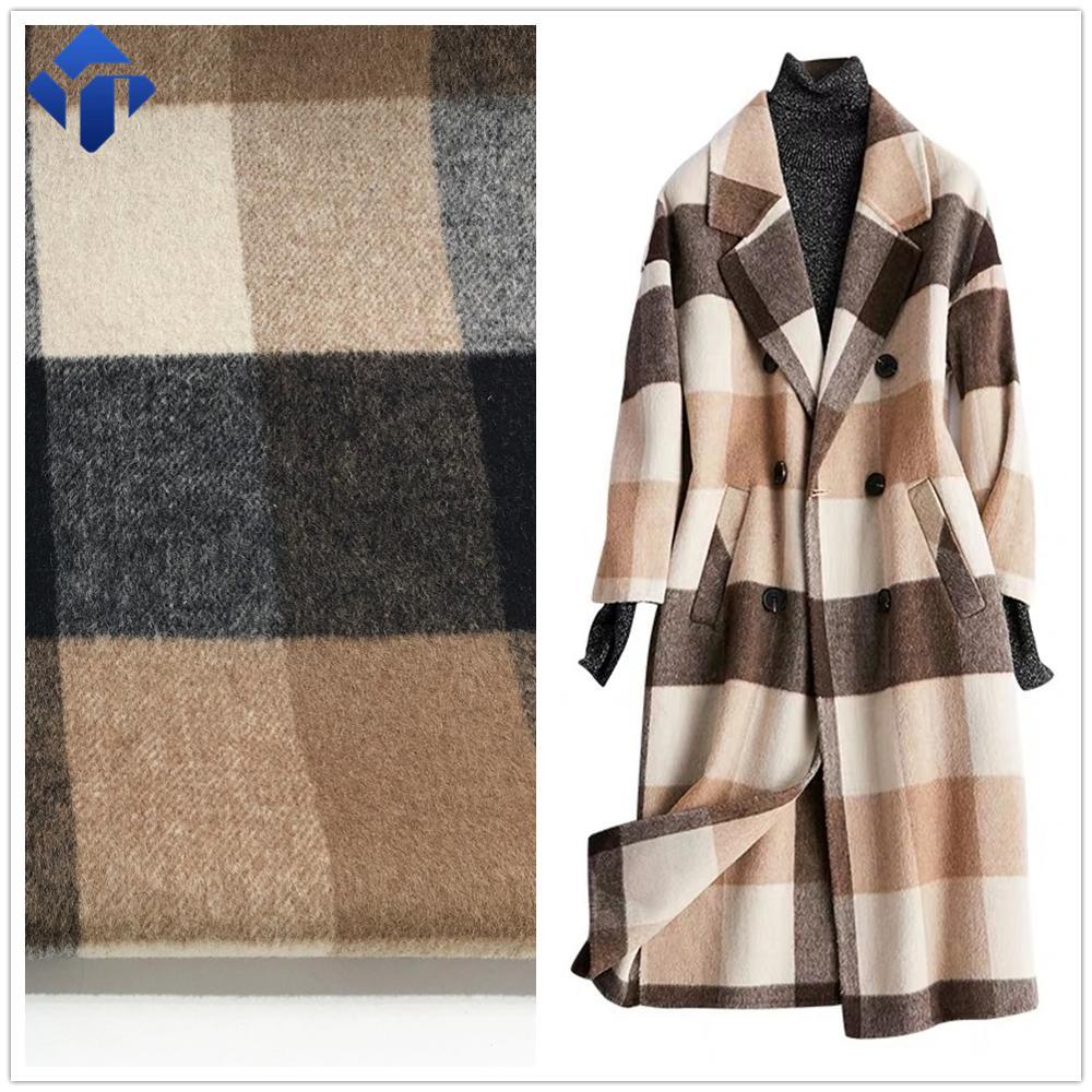 Недорогие шерстяные мельницы, переработанные полиэфирные штапельные волокна, ткани для одежды