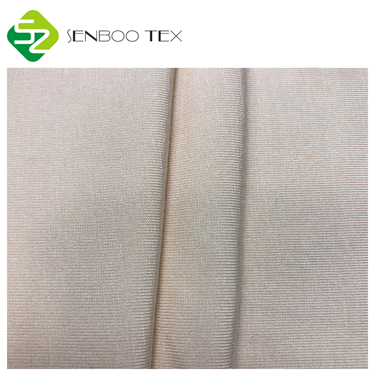 Super Soft and comfortable Uncolored 95 bamboo 5 spandex 180~220gsm knitted fabrics for newborn