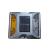 Aluminum traffic warning sign tempered glass cat eye solar led road stud