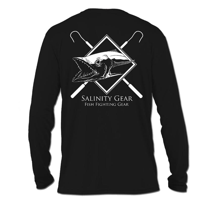 Сделанная на заказ бамбуковая рыболовная рубашка с длинным рукавом