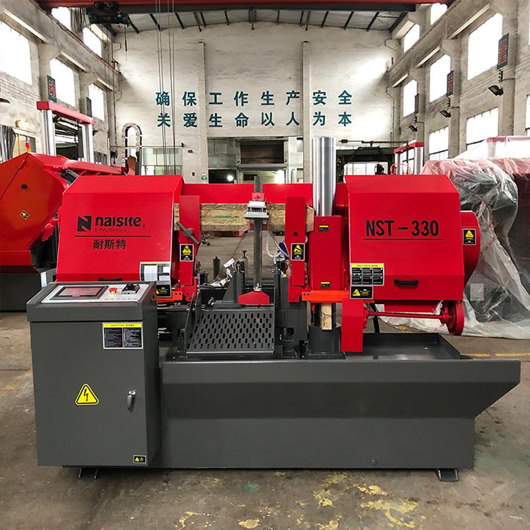 Automatic NST-330 Band Saw Machine Horizontal Band Saw Cutting Machine