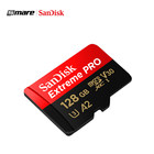 100% Original Sandisk Extreme Pro Micro TF SD Card up to 170MB/s A2 V30 U3 64GB 128GB Sandisk Memory Card 128GB With SD Adapter