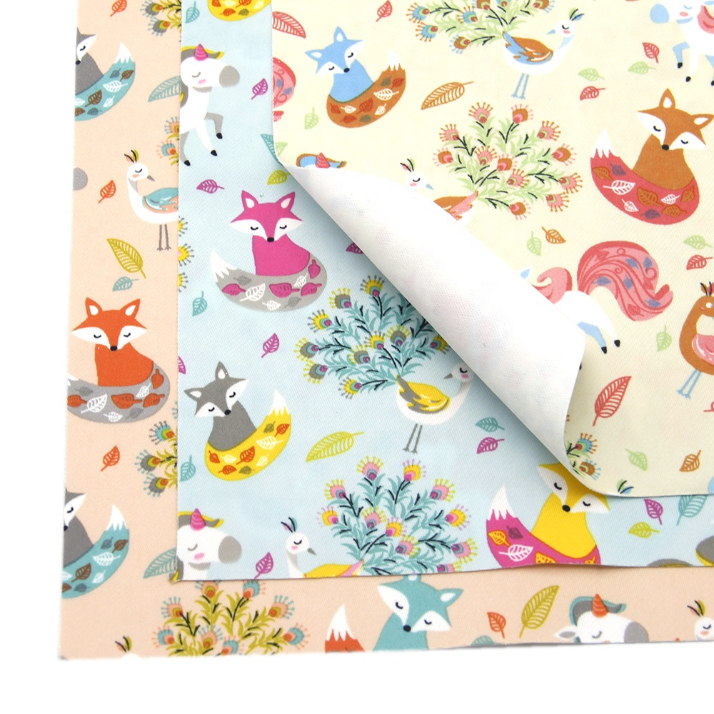 380T Animal Printed Waterproof Stretch Knitted Fabric 81744
