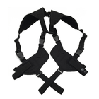 Adjustable Concealed Carry Under Arm Nylon Fashion Shoulder Holster Double Hand Gun Revolvers