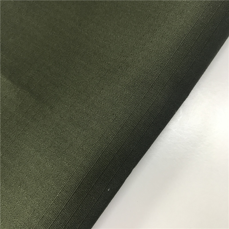 China factory poly cotton ripstop stretch fabric waterproof for tactical pants garments 220gsm