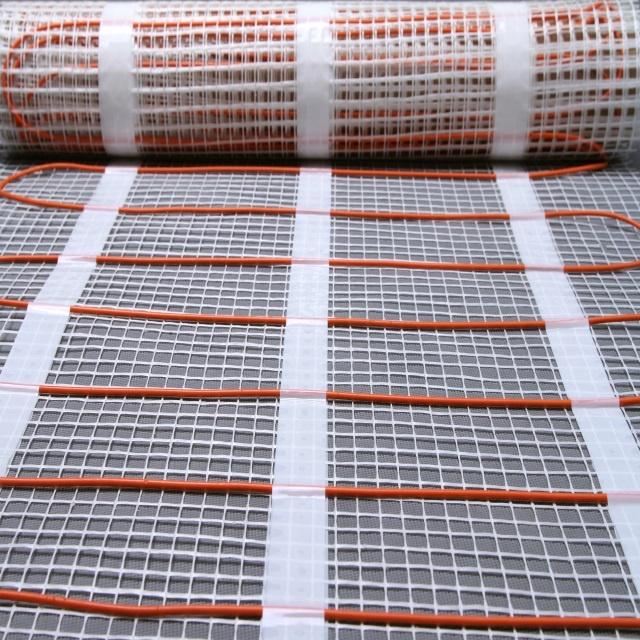 Central heating electric comfort concrete floor warming mat