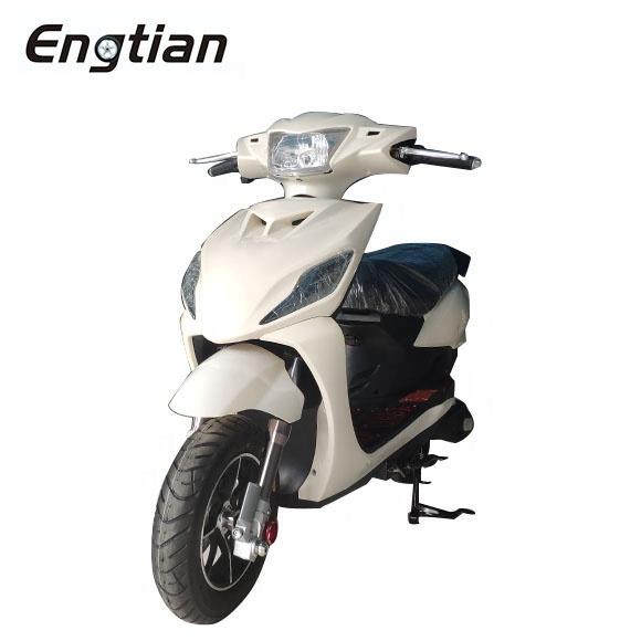 Недорогой высокоскоростной Электрический скутер Engtian 60 в 20 Ач CKD, электрический мотоцикл с педалями, дисковым тормозом, электрический велосипед для продажи