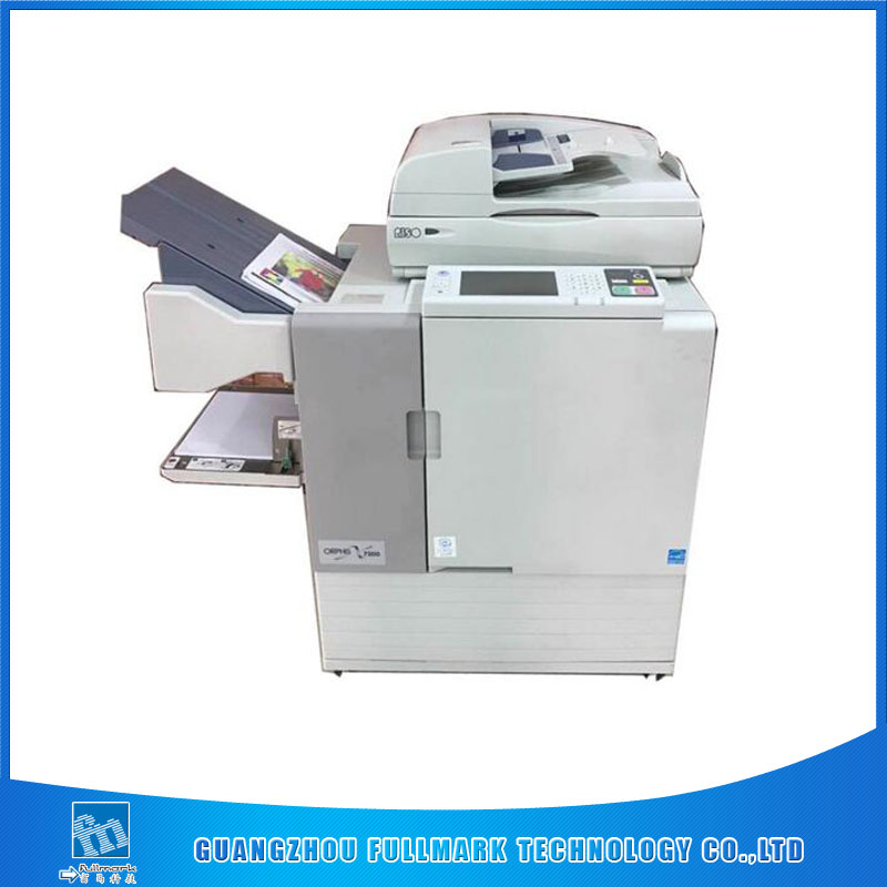 used RISOs ComColor ORPHIS X7250/7050/7150 Inkjet Printer A3 Digital Duplicator machine