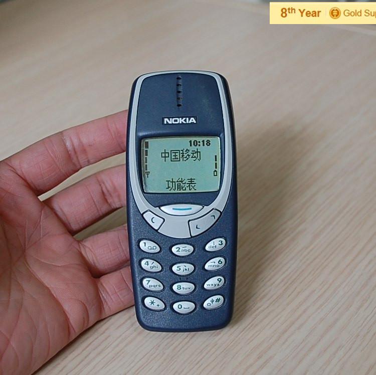 refurbished nokia 3310 cell phone gsm 900 1800 dualband unlocked original nokia phone. Black Bedroom Furniture Sets. Home Design Ideas