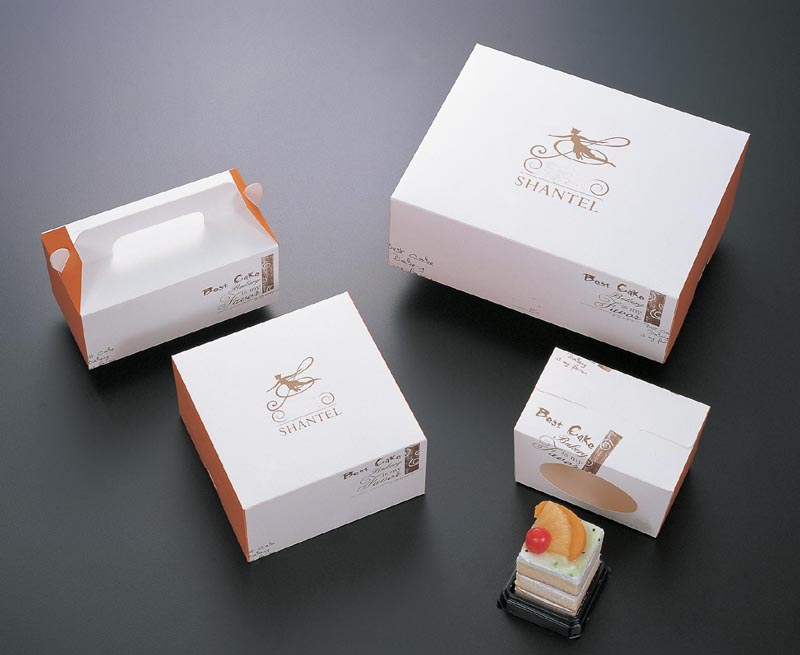 Custom Logo Cake Boxes