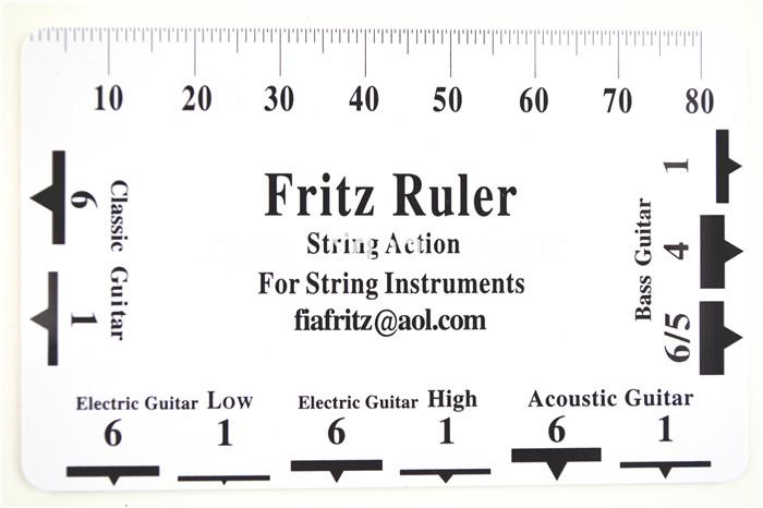 buy acoustic classical electric guitar bass string pitch ruler gauge string. Black Bedroom Furniture Sets. Home Design Ideas