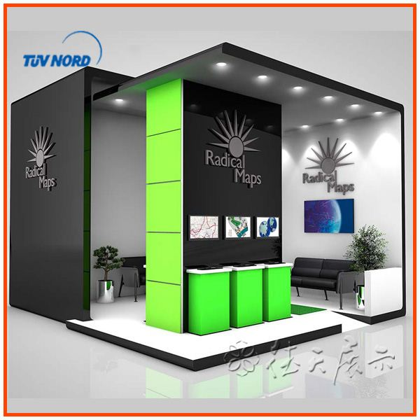 Design Aluminum Exhibit Booth Display Trade Show Display