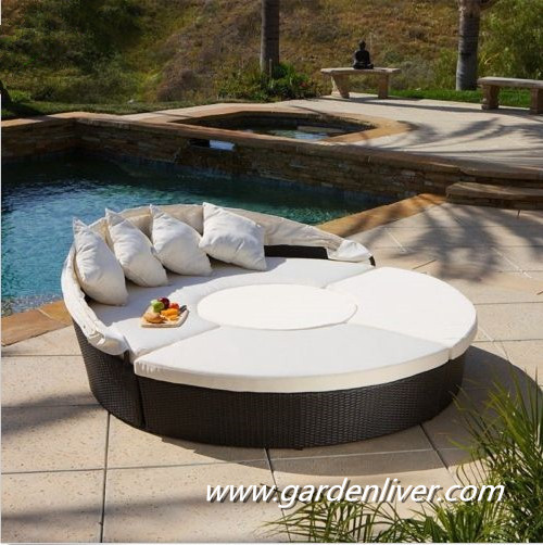 moderne kd en rotin ext rieur piscine transat prix rond lit baldaquin outils de jardin id de. Black Bedroom Furniture Sets. Home Design Ideas