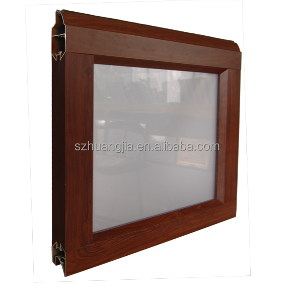 Auto Frosted Folding Glass Garage Door Aluminium Profile