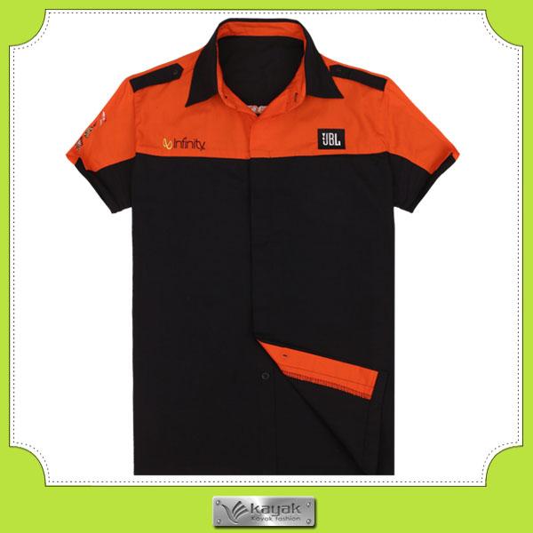 Custom High Quality Mens Heavy 100 Cotton Work Shirts Men Product On