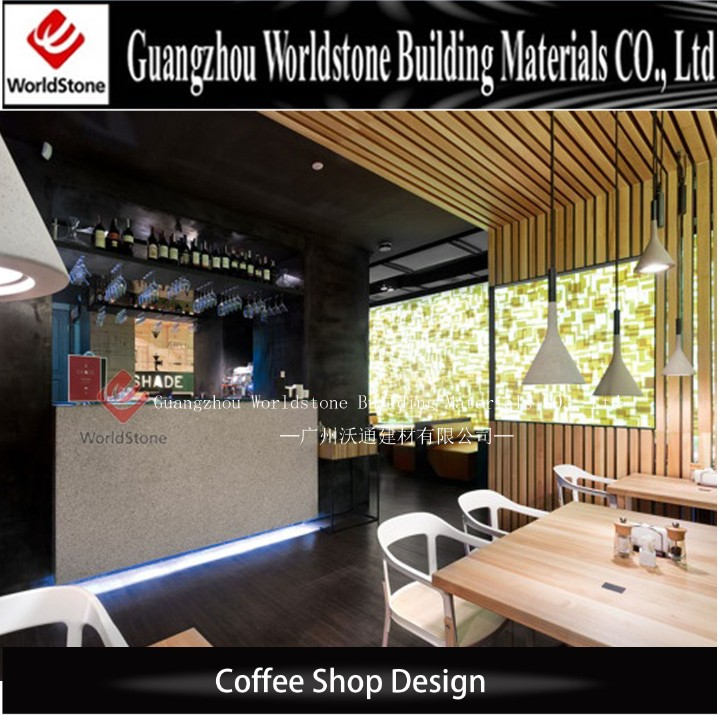 Custom Made Cafe Shop Cashier Counter Table Design Buy