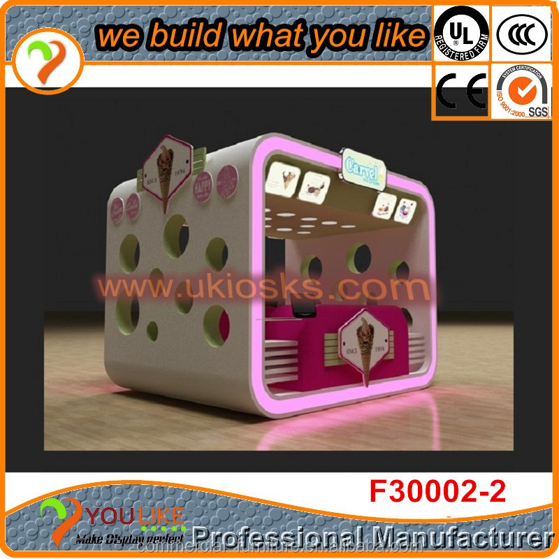 2014 12ft*10ft food kiosk,mall food kiosk,food kiosk design for sale