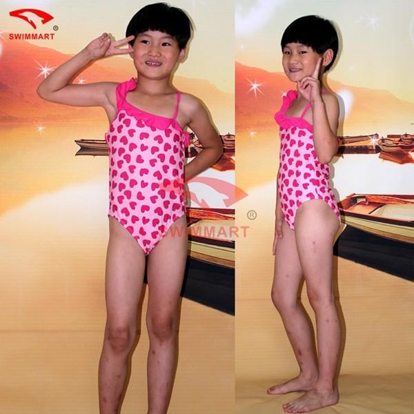 9b53e9580f 2019 Wholesale Sexy Girl Kids Swimwear Summer Girl Kids Bikini One ...