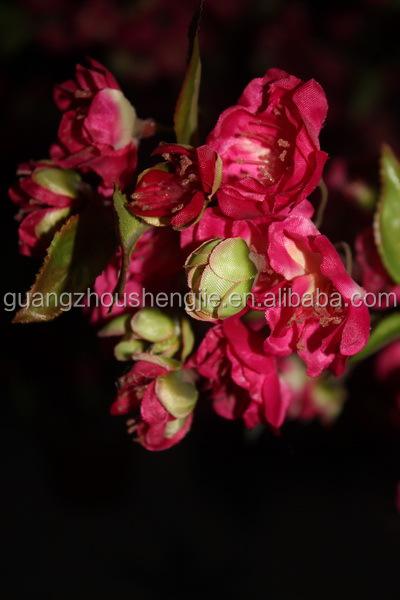 romantique fleur artificielle arbre arbre d coration fleur faux faux arbre fleur pour le. Black Bedroom Furniture Sets. Home Design Ideas