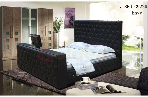 J G922 Leather Tv Beds