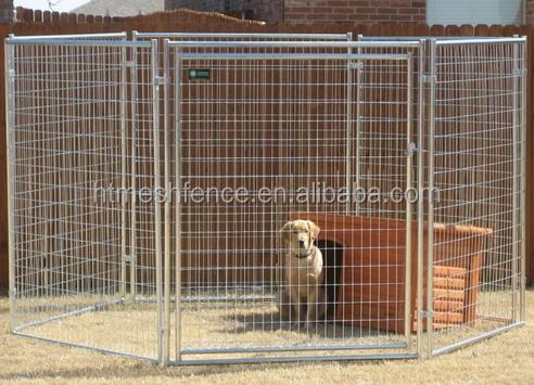Galvanized Steel Dog Kennel Iron Fence Dog Kennel Chain