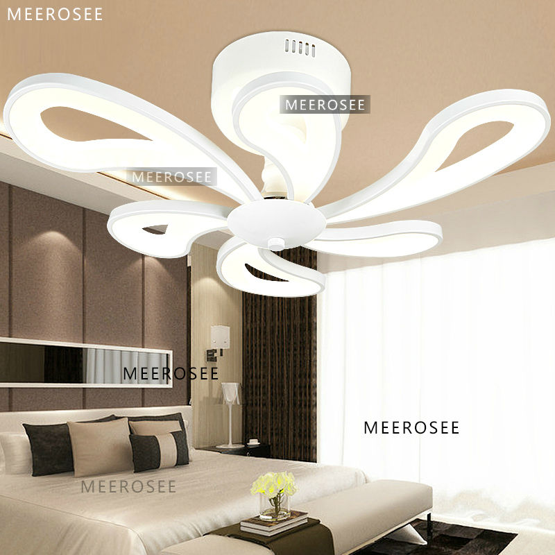 derni res style acrylique clairage design de luxe ventilateur de plafond moderne luminaire. Black Bedroom Furniture Sets. Home Design Ideas