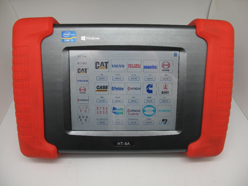 HT-8A heavy truck excavator diagnostic tool HT-8A heavy