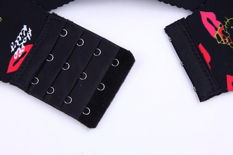2016 העליון Saling מותג חלקה מקשה אחת הדפסה חזייה בתוספת גודל תחתונים להגדיר לדחוף את החזייה נשים חזייה סטים BS187