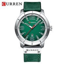 Для мужчин спортивные часы Элитный бренд CURREN Для мужчин Военная Повседневное Водонепроницаемый наручные часы Для мужчин кварцевые часы дл...(Китай)
