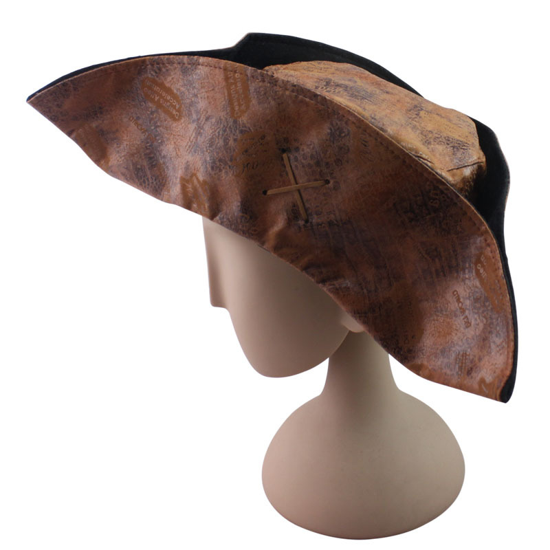Christmas Halloween Adult Hat Party Accessories Pirate Hat Captain Jack Hat