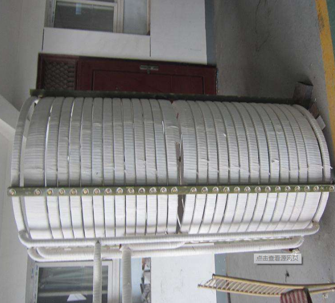 Furnace induction coil