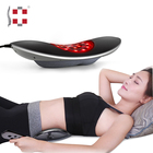 Personal waist vibrating spinal air pressure lumbar back massager