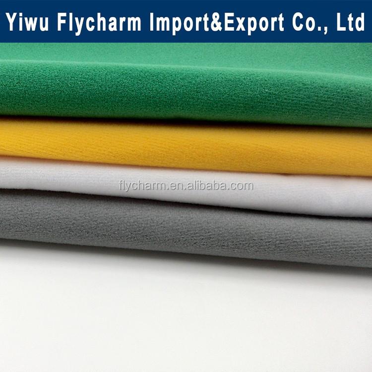 Colorful low MOQ warp knitting nylon loop fabric