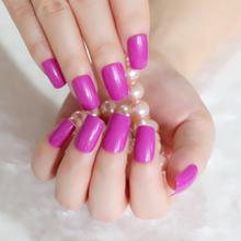 24 шт., короткие Овальные Глянцевые накладные ногти, чистый белый прозрачный пресс на ногтях, Натуральные Искусственные с блестками наконечн...(Китай)