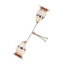 Роскошные Для женщин и девочек Часы Браслет ремешок для наручных часов Apple Watch Series 5 4 3 2 1 ремень Нержавеющаясталь мета-Link 38/42/40/44 мм(Китай)