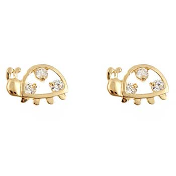 Snail earrings in 925 silver