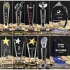 k9 crystal trophy