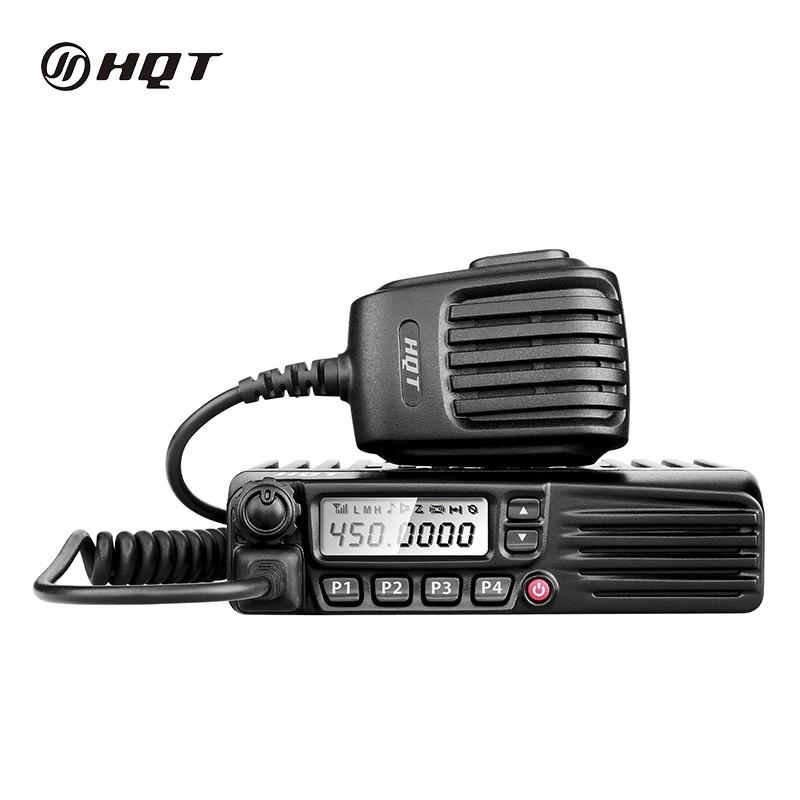 25W/50W Analog Mobile Radio, VHF 66-88MHz/136-174MHz, UHF 400-470MHz/450-520MHz, 512 Channels Long Range Walkie Talkie