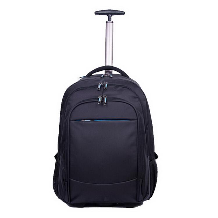 business use executive trolley bag with single bar