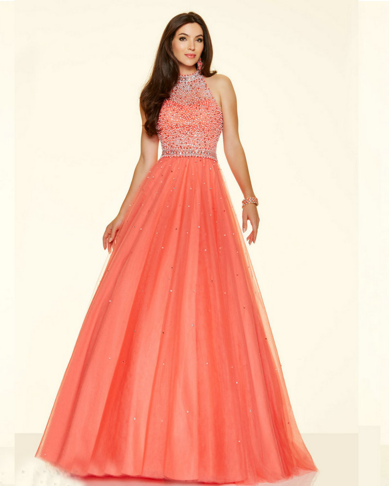 Style 98096 Floor Length Aqua Color Dress Pucker Up Pink ...