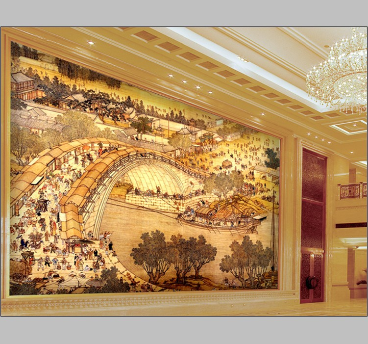 Murals Luxury Gold Embossed Wallpaper Abstrat 3d For Hotel
